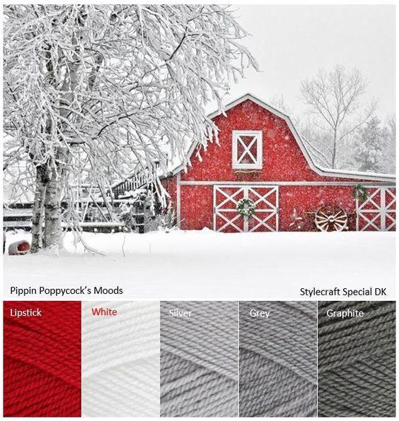 NOVEMBRE 2018 rouge blanc gris + un ou des flocons