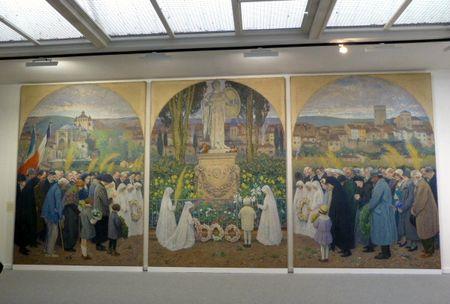 Henri Martin pour le monument aux morts de Cahors
