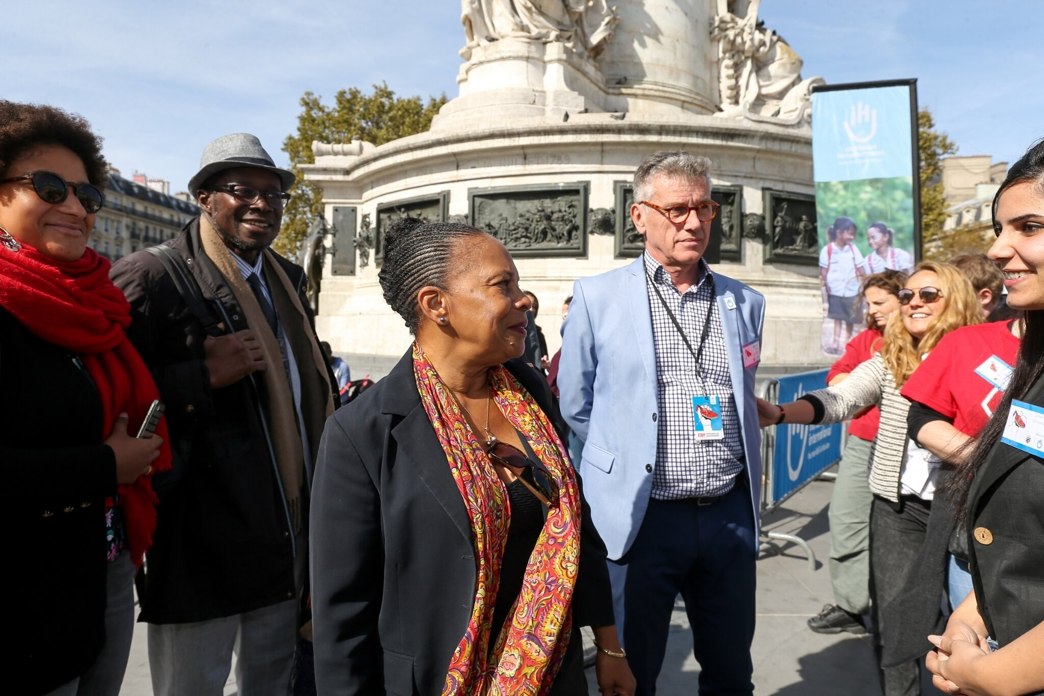 Christiane Taubira soutient Handicap International. © Michel Stoupak. Sam 29.09.2018, 12h39m29.