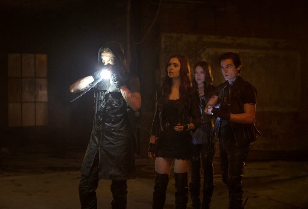Jace, Clary, Alec and Isabelle Shadowhunters City of Bones