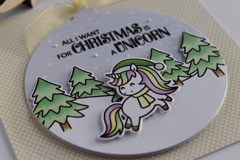 Dani zoom carte1 Christmas Unicorns Maxime 19