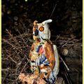 Hibou aux couleurs d'automne