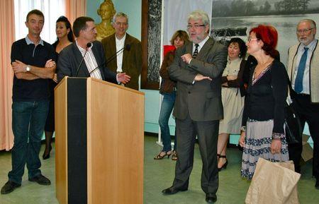 LYCEE JOLIOT CURIE RECEPTION HONGROIS 2011 discours Francis Lafeuille