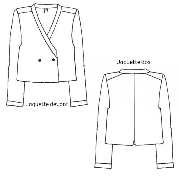 Cousette Patterns - Jaquette