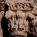 Sainte-marie de rieux-minervois, les chapiteaux