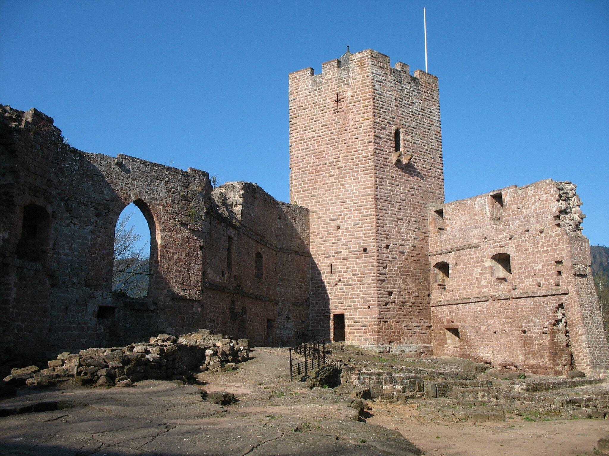 Niederbronn-les-Bains, château du Wasenbourg