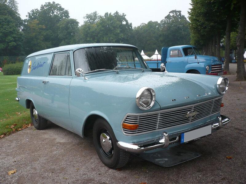 OPEL Olympia Rekord P2 Lieferwagen 1962 Schwetzingen (1)