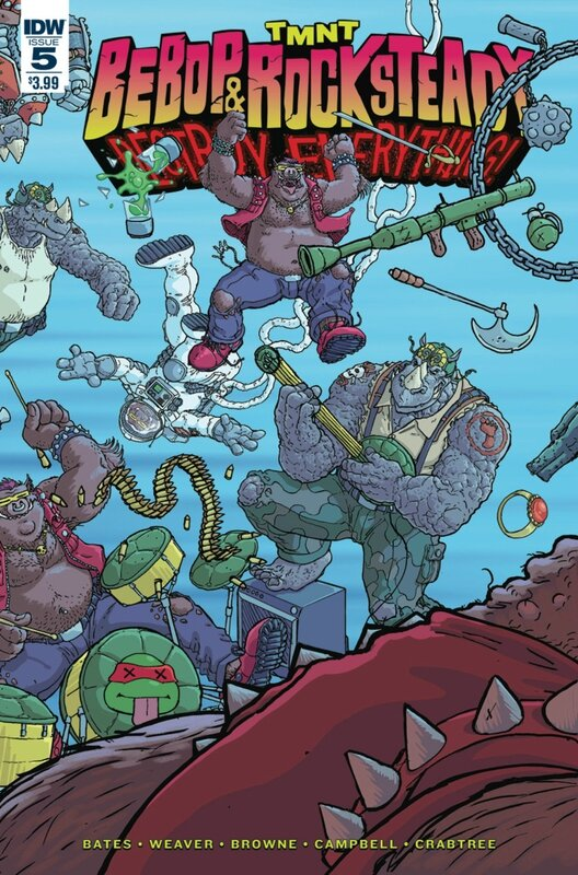 IDW TMNT bebop & rocksteady destroy everything 05