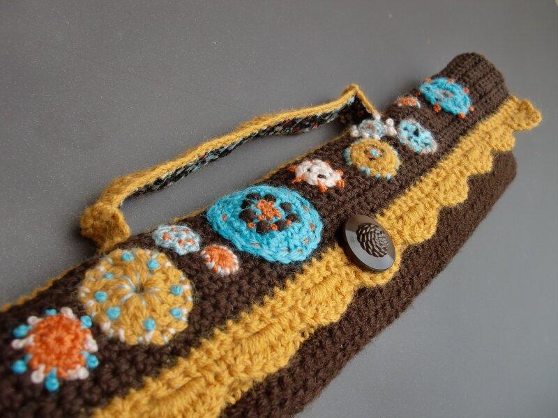 trousse pour aiguilles à tricoter