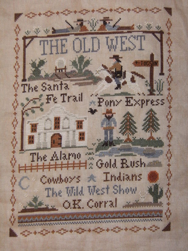 The Old West - Little House Needleworks