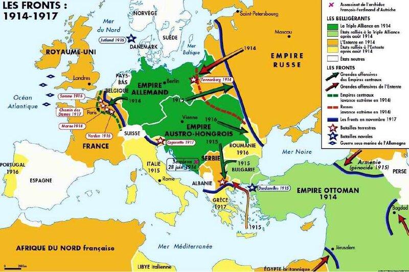 1915-1917 guerre de positon