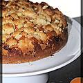 P'tit gâteau aux abricots avec crumble croustillant