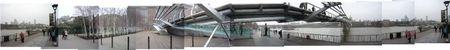 panoramique devant le Tate Modern