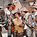 Un des romans le plus mis en scene au cinema : les trois mousquetaires
