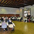 Repas offert aux aînés par la municipalité, dimanche 1er décembre 2013
