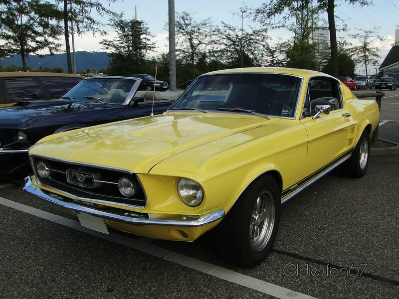 ford mustang gta fastback coupe 1967 a