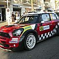 Mini john cooper works n°37 rallye de france-alsace