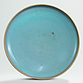 A Jun dish, Jin-Yuan dynasty (1115-1368)
