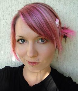 pink_color_hair_style
