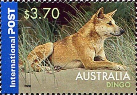 Timbre Australie 2006 Dingo