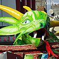 Carnaval de Limoges 2010 : dragon chinois