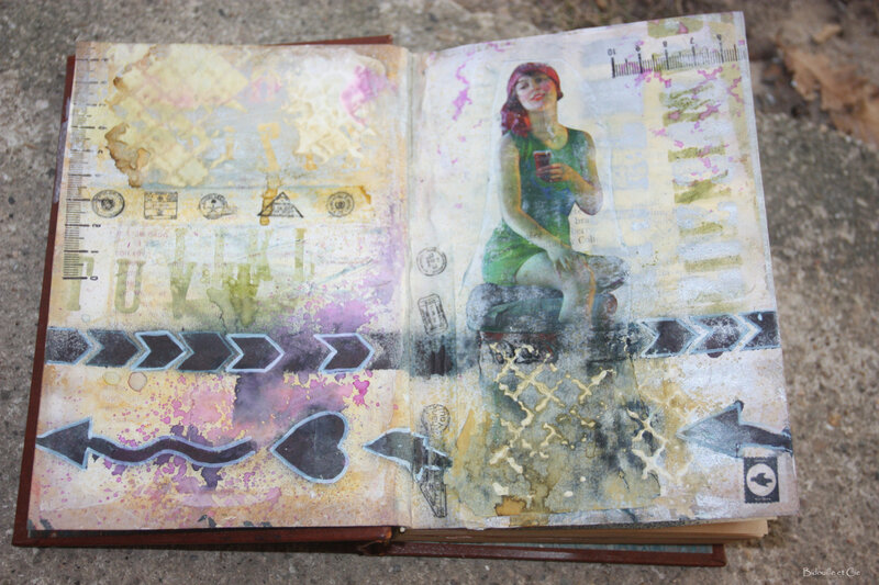 art journal -pin up