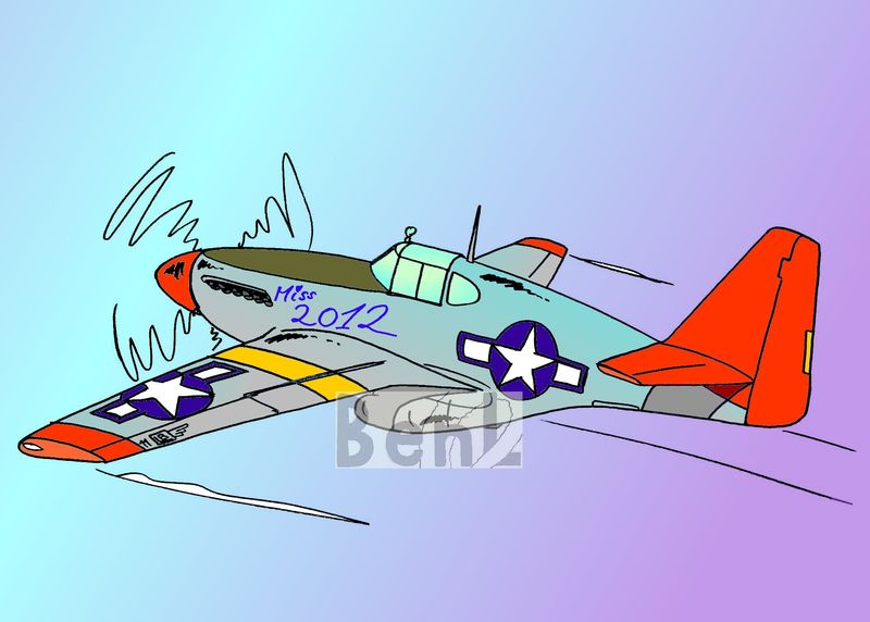 P51 Mustang Tuskegee