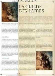 La guilde des Lames 01 (vol 5)
