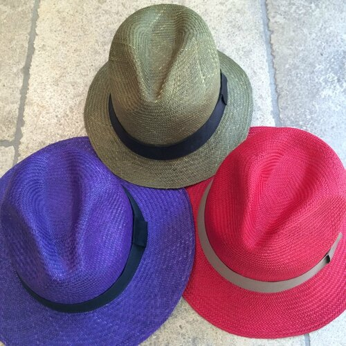 GUANABANA chapeaux tressés Colombie printemps été 2015 boutique Avant-Après 29 RUE foch 34000 Montpellier