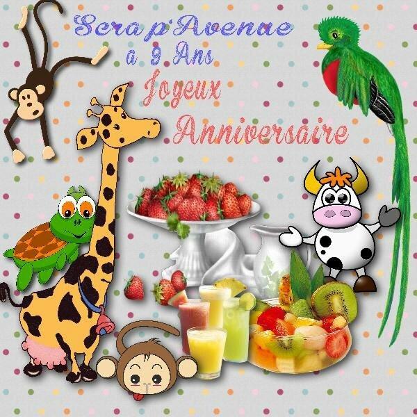 * Le 9ème anniversaire de Scrap'Avenue