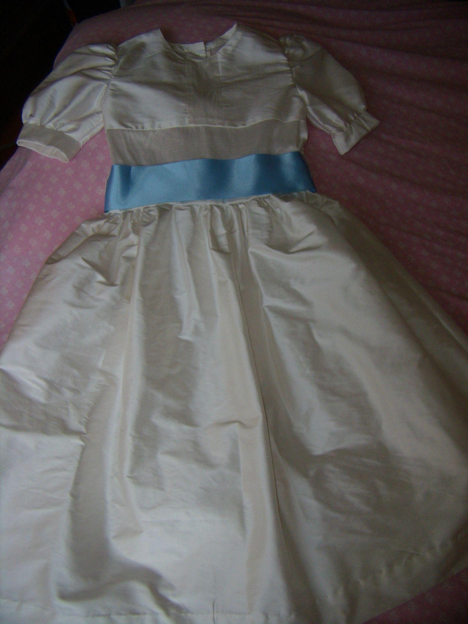 Robe en soie sauvage - 8 ans