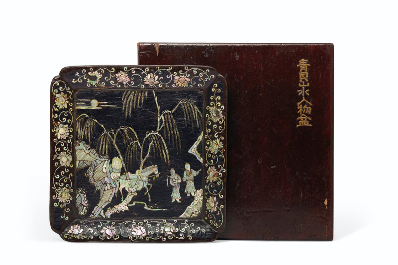 2019_NYR_16320_1644_001(a_mother-of-pearl-inlaid_black_lacquer_square_dish_late_yuan-early_min)