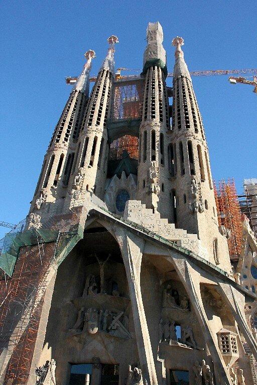 Barcelone, Basilica Sagrada Familia_5854