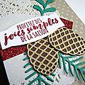 Invitation : buffet de cartes spécial noël / nouvel an