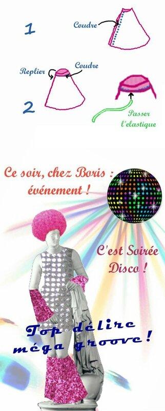 Fabriquer un déguisement disco très facilement (1)