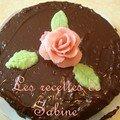 Fondant au chocolat pour l'anniversaire de ma maman