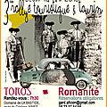 Rallye toristique - toros et romanité