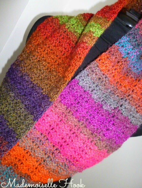 Snood multicolore 2