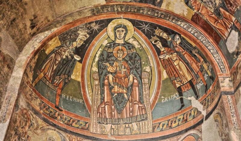 église santa-maria-de-taull