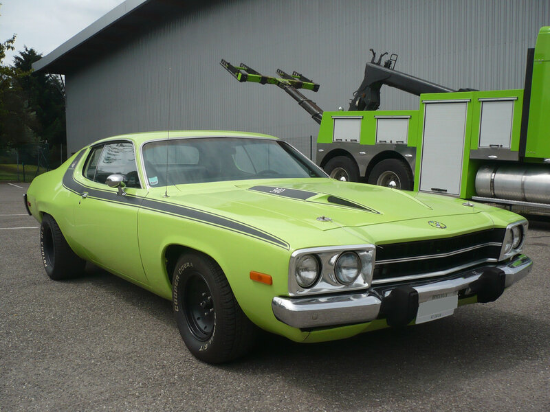 PLYMOUTH Road Runner 1973 Illzach (1)