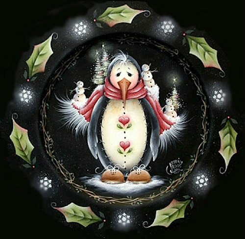 MIL1092_Penguin_and_Holly