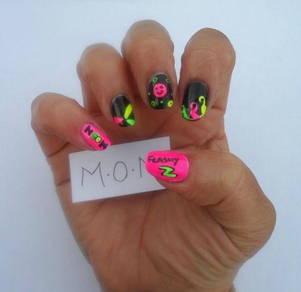 lily et le nail art
