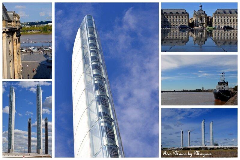 Bordeaux Quais de la Garonne Pont J Chaban Delmas