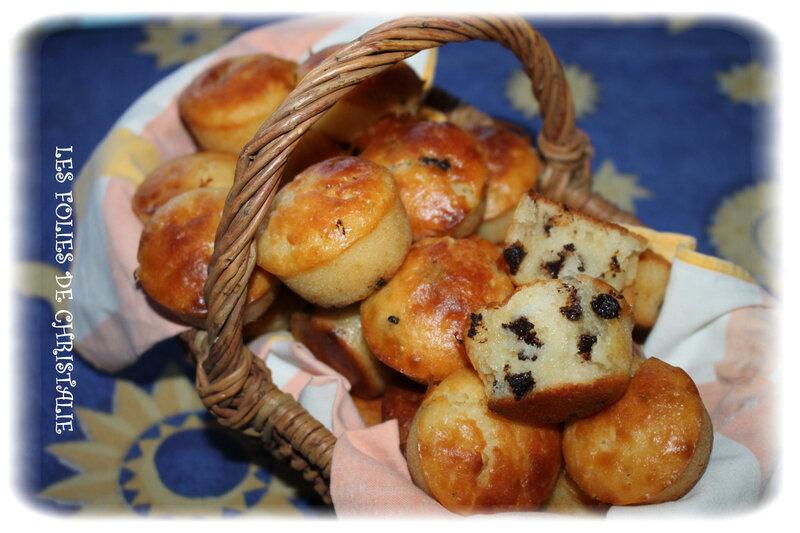 Minis-muffins pépites chocolat 6