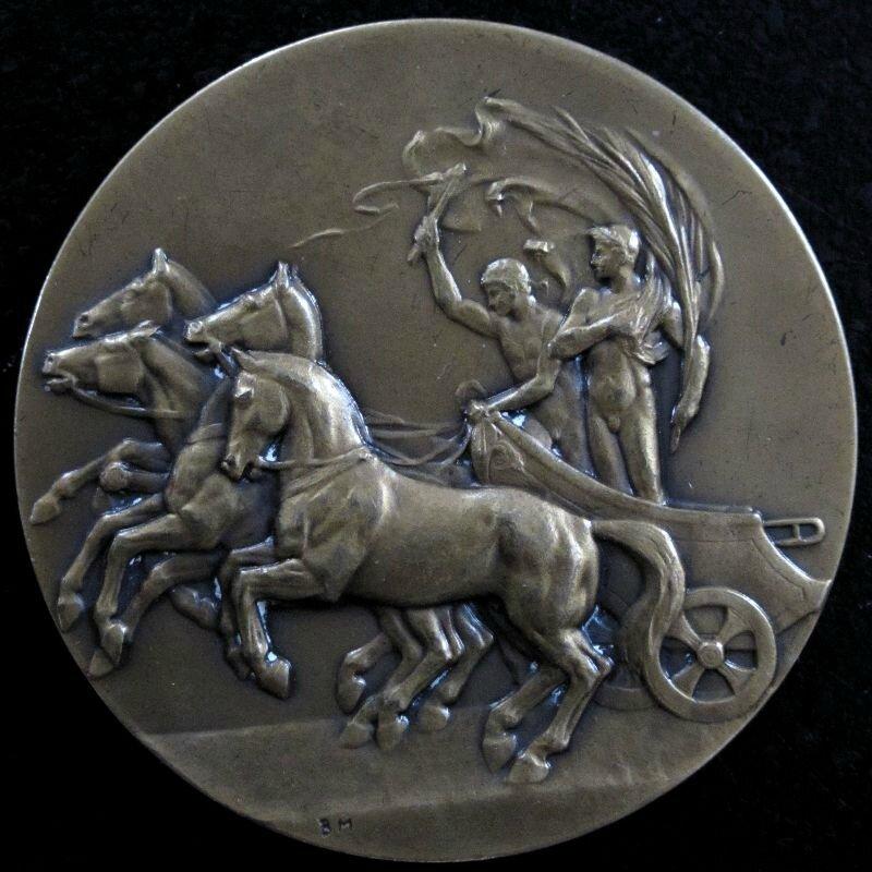 Médaille de bronze Raymond ARGENTIN IMG_6046