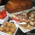 Pain d'épices en surprise pour le #4 sucré-salé de mamina et champi de choupette
