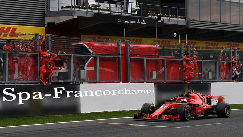 2018-Spa Francorchamps-SF71H-Vettel
