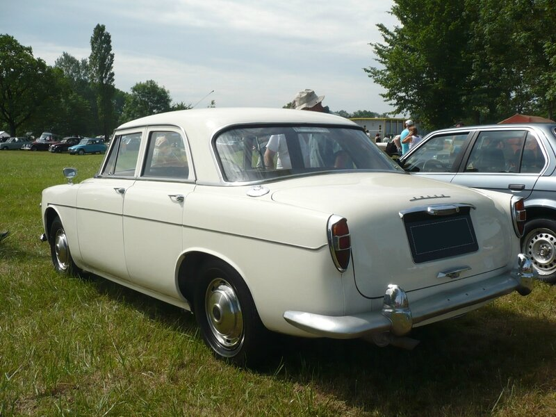 ROVER P5 3 Litre Saloon 1962 Madine (2)