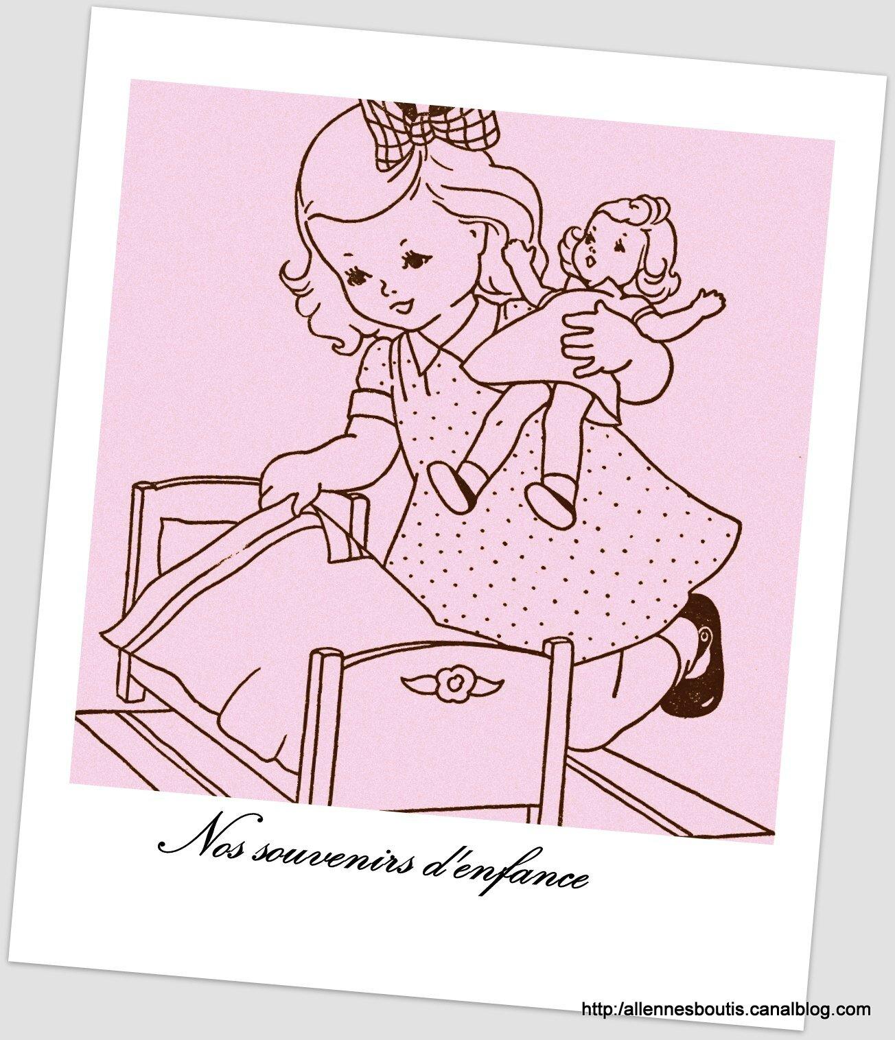 poupée et enfant