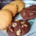 cookies tout choco et financiers